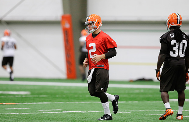 Browns opening Manziel practice to national media