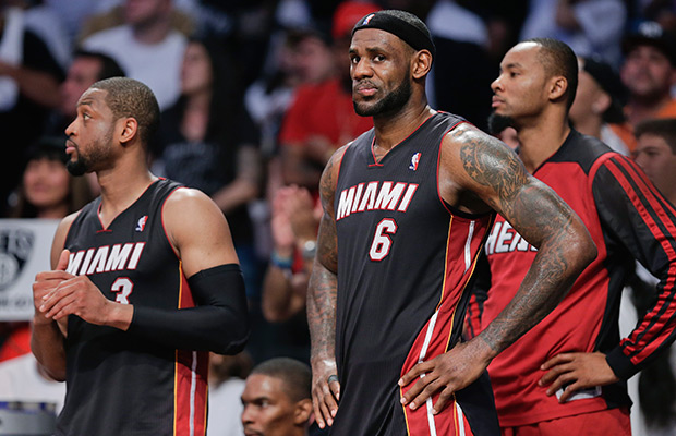 Heat go up 3-1 in series with Brooklyn