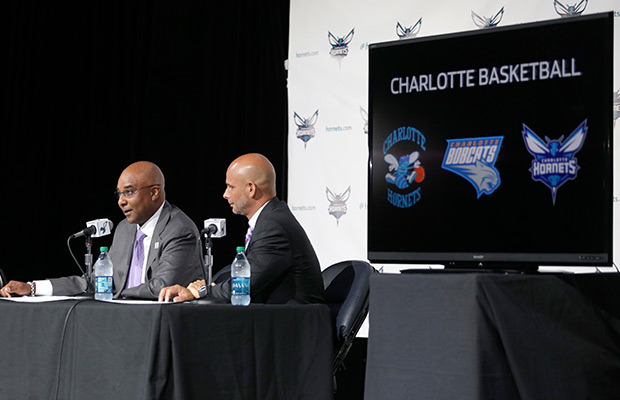 Bobcats officially become Hornets in Charlotte