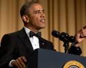 President Barack Obama speaks during the White House Correspondents' Association (WHCA) Dinner at the Washington Hilton Hotel, Saturday, May 3, 2014, in Washington.