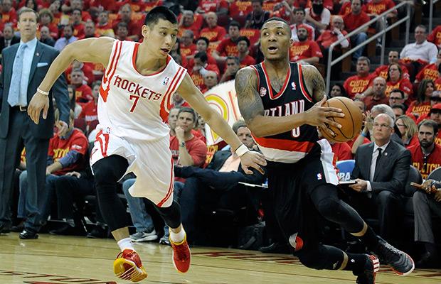 Lillard's 3 at buzzer leads Blazers past Rockets