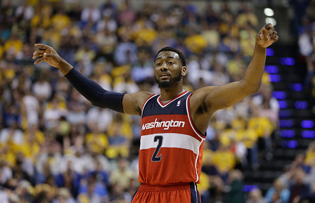 AP Source: US cuts Wall, Beal, Millsap, down to 16