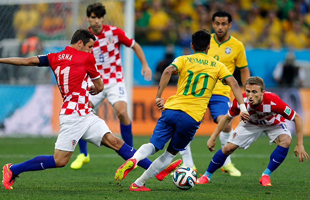 Brazil beats Croatia 3-1 in World Cup opener