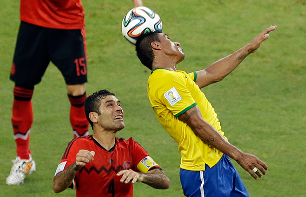 Brazil and Mexico play to scoreless draw in World Cup