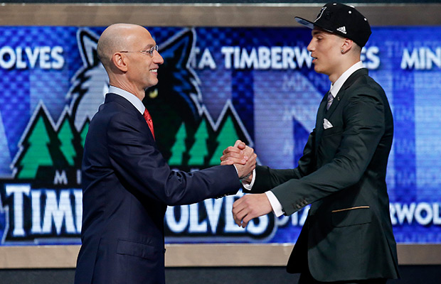 Wolves sign 1st-round pick Zach LaVine