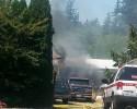 Mount Baker Hwy fire