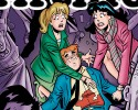 "This photo released by Archie Comics shows ""Life with Archie."" Archie Comics says the famous comic book character will heroically sacrifice himself while saving the life of a friend in a July 2014 installment of ""Life with Archie."" The comic book series tells the story of grown-up renditions of Archie and his Riverdale pals."