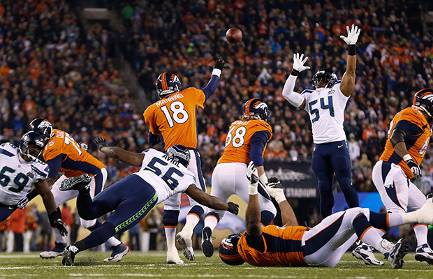 Seahawks' Bobby Wagner says Broncos were intimidated