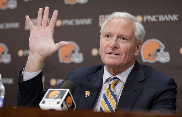 Browns owner Haslam to pay $92M fine