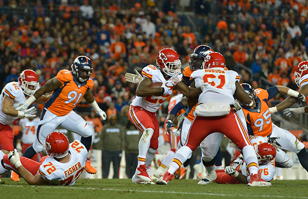 Kansas City Chiefs, running back Jamaal Charles reach deal