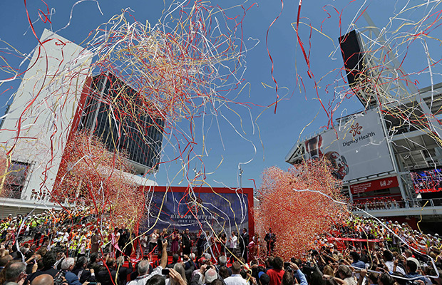 49ers open new stadium in Santa Clara