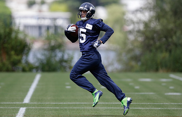 Kearse has gone from undrafted to lock for Seattle