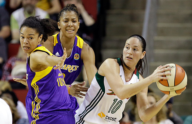 Sparks shoot 61 percent, beat Storm 77-65