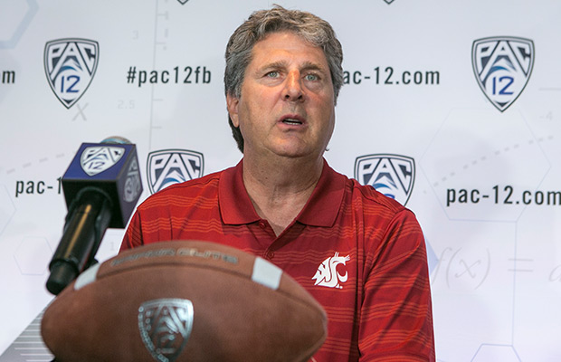 WSU's Leach looking to build on last year's bowl game