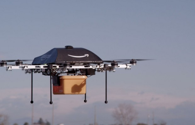 Amazon asks FAA to fly drones