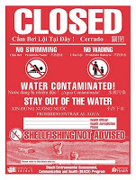 Water dangerous at Skagit beach