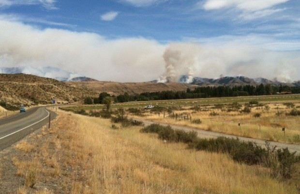 Wildfires continue to rage across state