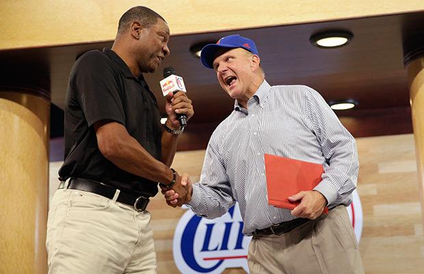 Steve Ballmer debuts as LA Clippers owner
