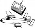 generic radio control jet graphic