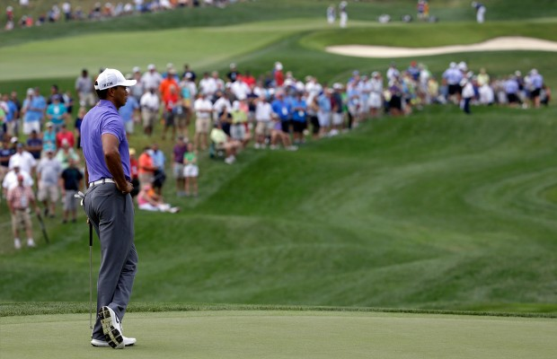Woods struggles to 74, Westwood, Chappell & Palmer lead PGA