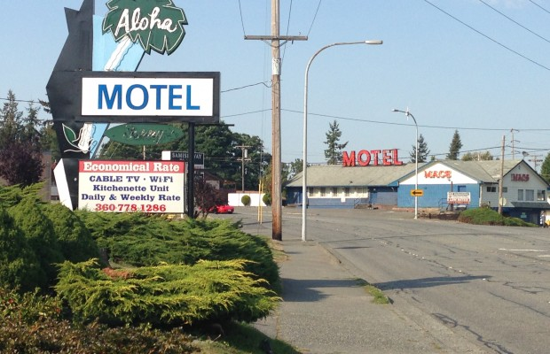 Motels on Samish Way