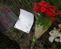 SCHOOL SHOOTING: Flowers are pictured outside Marysville-Pilchuck High School the day after a shooting at the school in Marysville, Washington Oct. 25. Photo: Reuters/Jason Redmond
