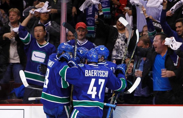 Vrbata's hat trick leads Canucks to win over Buffalo