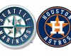 seattle mariners houston astros logos