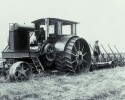 generic antique tractor