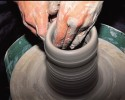 generic pottery making