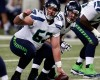 Seattle Seahawks center Drew Nowak prepares to snap the ball during the second quarter of an NFL football game against the St. Louis Rams Sunday, Sept. 13, 2015, in St. Louis. (AP Photo/Tom Gannam)