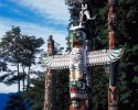 Indigenous People totem pole