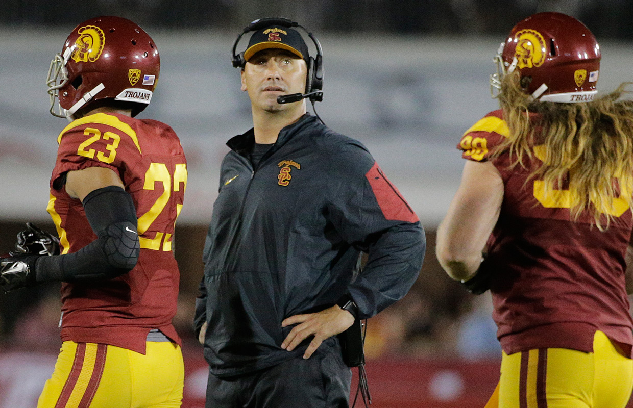 USC Football Drops Out of AP Poll After Alabama Loss