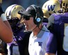 Washington head coach Chris Petersen