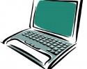 generic laptop computer graphic