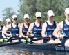 The WWU women's rowing squad Courtesy of WWU Athletics