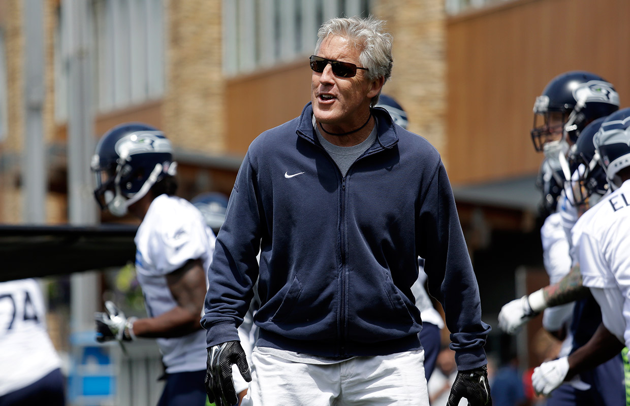National Football League hit Seahawks with fines and loss of draft pick