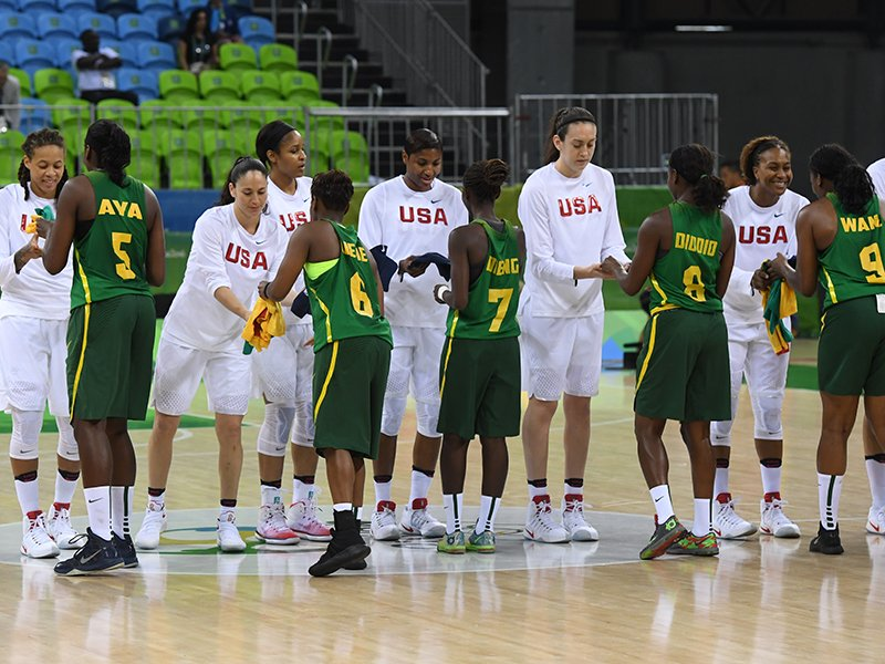 American women rout Senegal 121-56 to start chase for gold