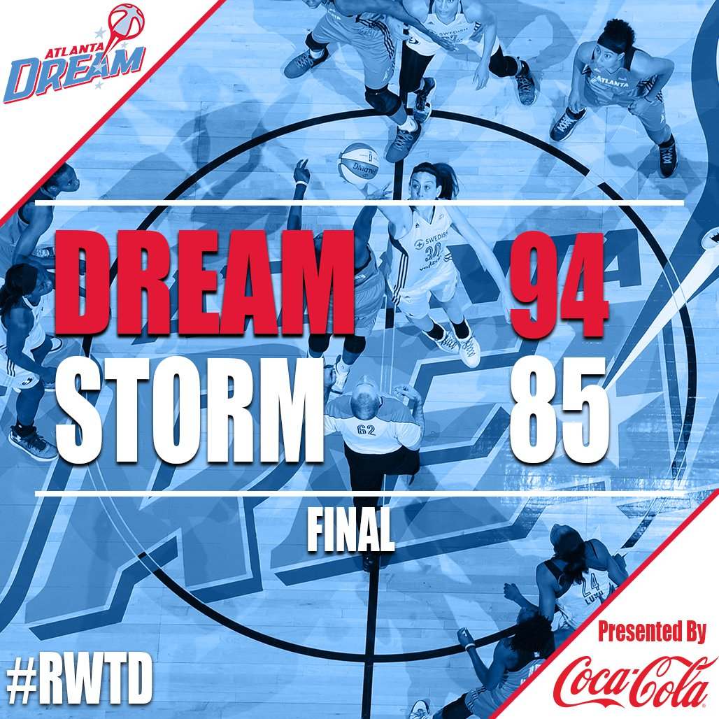 McCoughtry scores 37, Dream beats Storm in WNBA 1st round