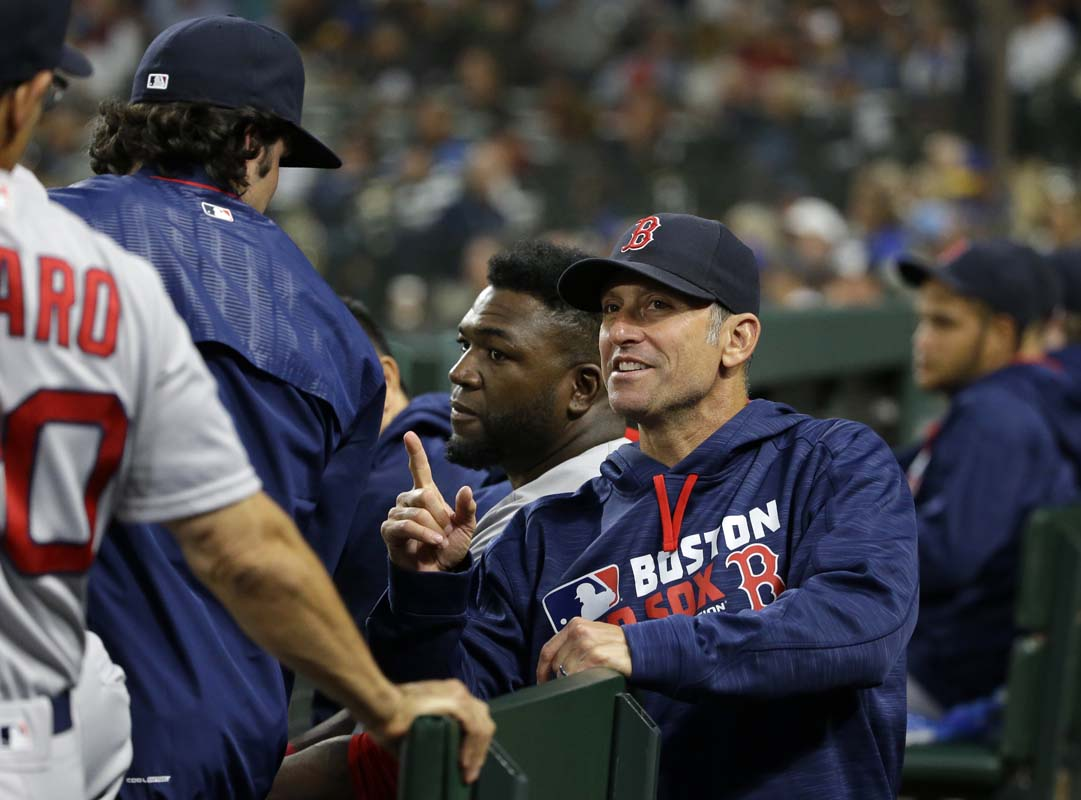 Red Sox bench coach Lovullo to become Diamondbacks manager