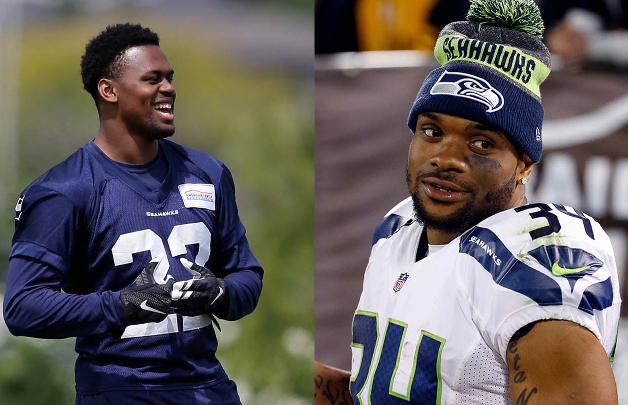Seahawks putting hopes of run game on Prosise, Rawls