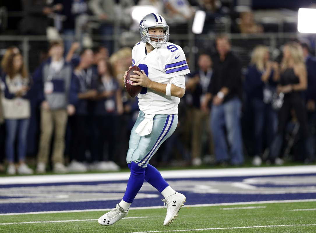 Tony Romo gets all sentimental during message to Cowboys fans