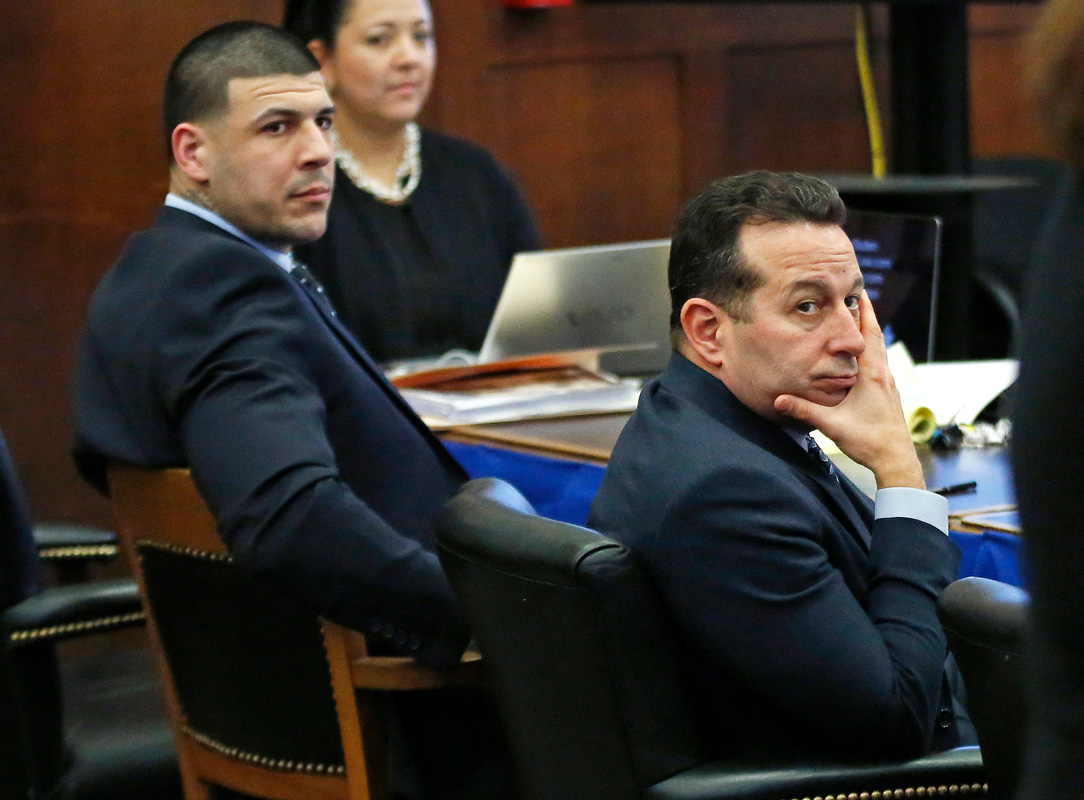 Researchers to look for CTE evidence in Hernandez's brain