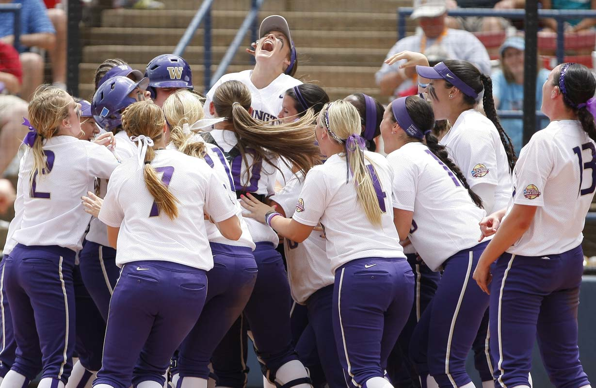 UW softball back in College World Series for first time
