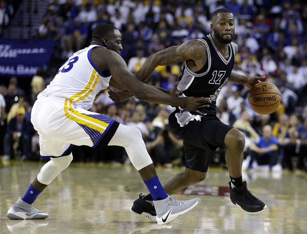 Spurs advance to face Warriors in Western Finals