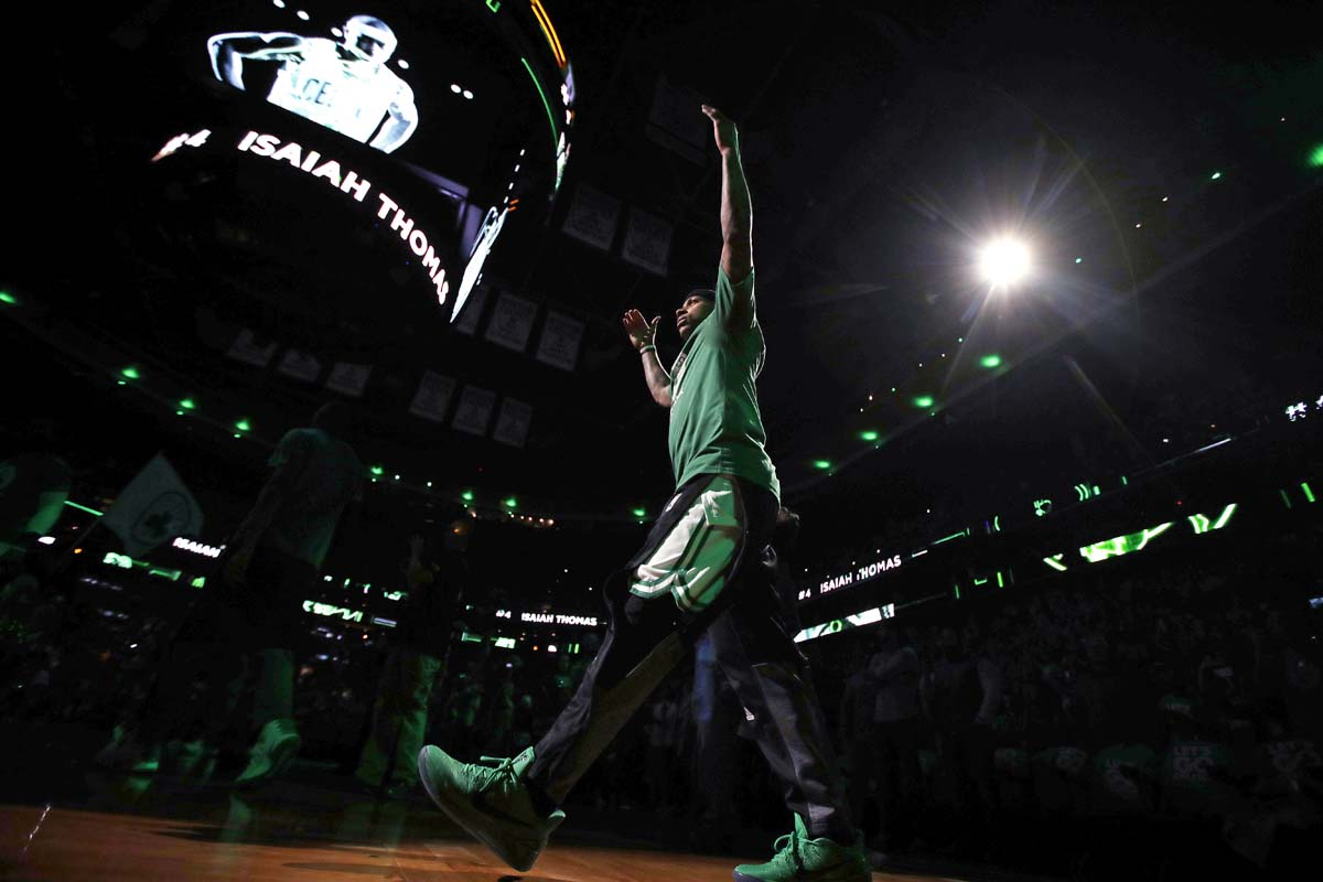 Olynyk sparks Celtics past Wizards, into conference finals