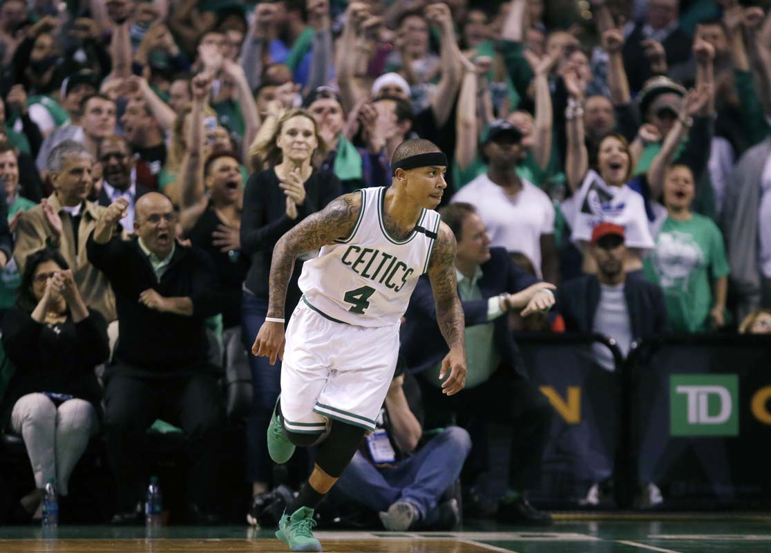 Celtics complete comeback to stun Cavs at buzzer