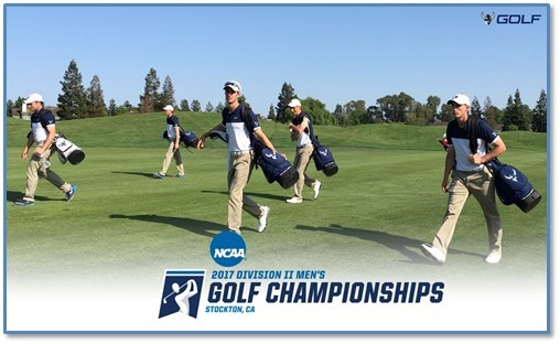 Men's golf tied for fourth after first round of NCAA Regional