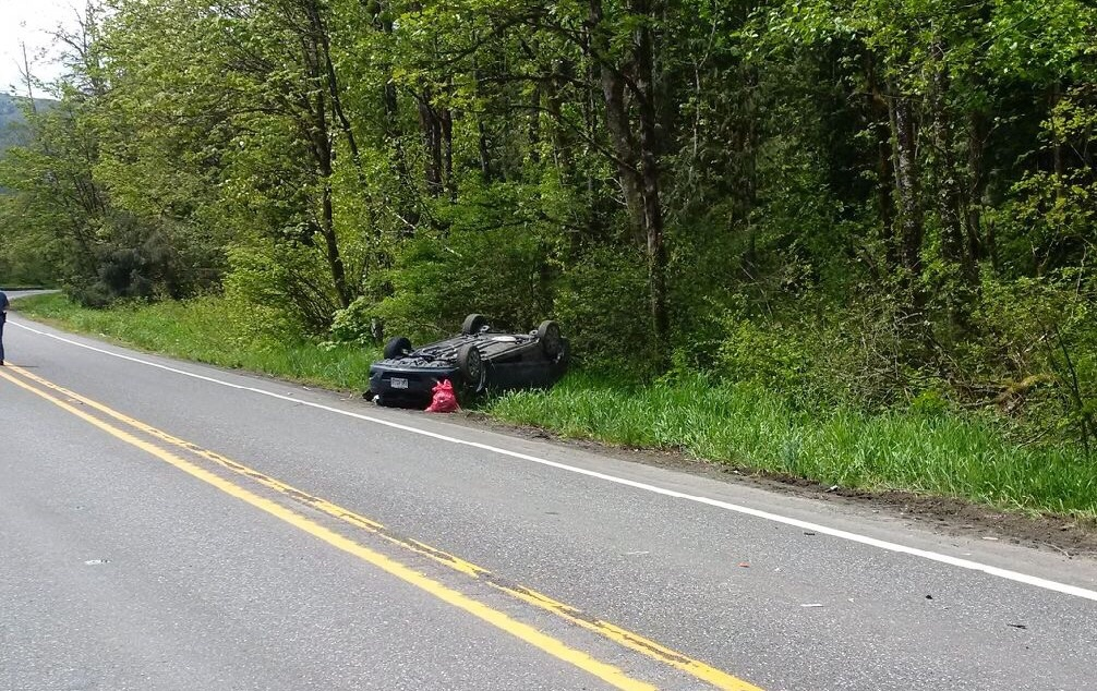 Dad, baby die in Whatcom County crash; mom among injured