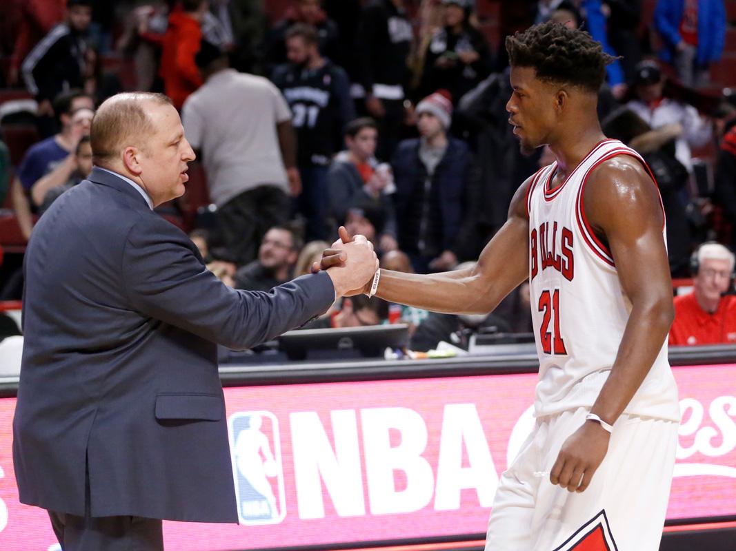 Bulls trade Butler to Timberwolves